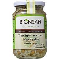 Bionsan Espelta con Arroz Integral y Algas - 6 Paquetes de 220 gr - Total: 1320 gr