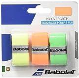 Babolat My Overgrip X3 Accessorio Racchetta, Unisex – Adulto, Arancione, Taglia Unica