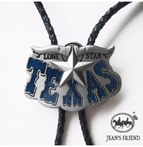 corbata de bolo new unique cordón oeste Texas azul estrella 96390ee08dd
