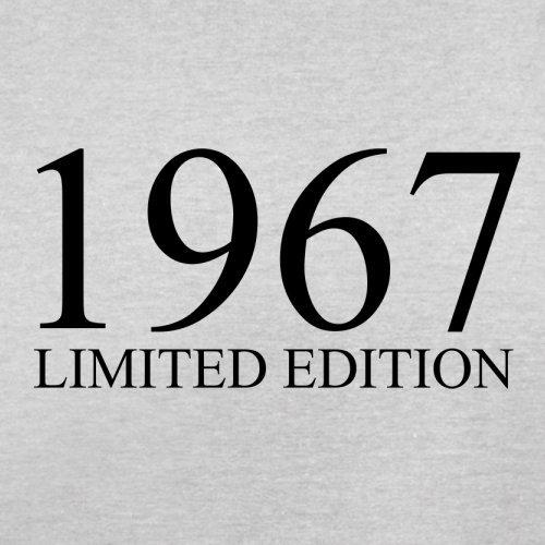 1967 Limierte Auflage/Limited Edition - 51. Geburtstag - Herren T-Shirt - 13 Farben Hellgrau