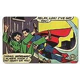 Planche à Petit-déjeuner Superman - DC-Comics - Thanks, Superman! - Planche - Motif Original sous Licence - Logo