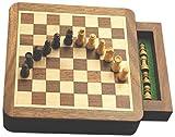 Wood Magnetic Chess Set, 5