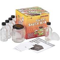 Monster Chilli Sauce Kit - Kit per salsa chili. Coltiva i tuoi peperoncini e confeziona la tua salsa chili, grazie all'app gratuita per iphone / android
