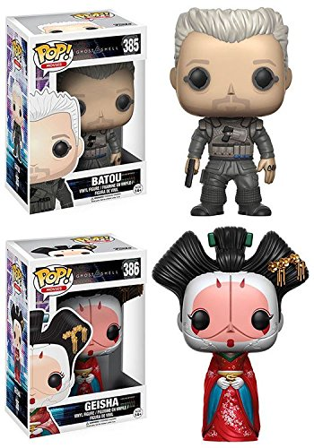 Funko POP Ghost In The Shell Batou Geisha Stylized Vinyl Figure Set NEW