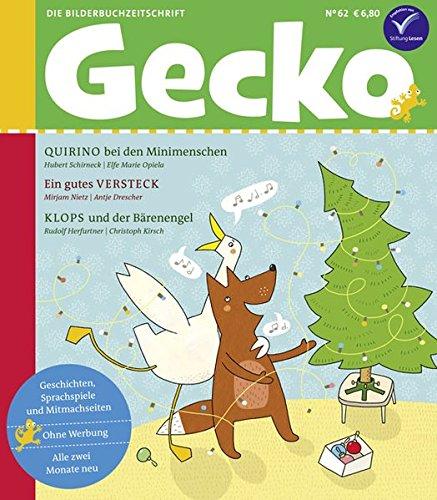 Gecko Kinderzeitschrift Band 62: Die Bilderbuch-Zeitschrift (Weihnachts-gecko)