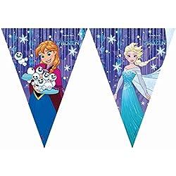 PROCOS Frozen Snow Flakes Triangular Banderolas