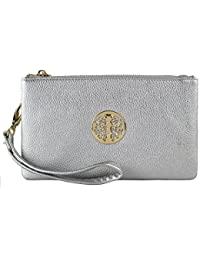 caa8289666 Small Clutch Bags with Wristlet and Long Adjustable Strap - Packaged With FREE  Elegant Tiana Marie