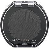 Maybelline New York Lidschatten Colorshow Mono Shadow Black Out 22 / Eyeshadow Schwarz glänzendes Finish, leuchtende Farben, intensive Deckkraft, 1 x 3 g