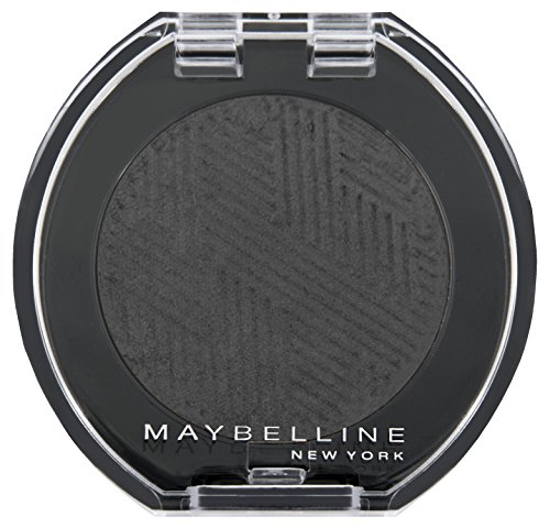 Maybelline New York Lidschatten Colorshow Mono Shadow Black Out 22 / Eyeshadow Schwarz glänzendes...