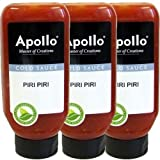 Apollo Gewürz-Sauce 'PIRI-PIRI SAUS' 3 x 670ml (Chili)