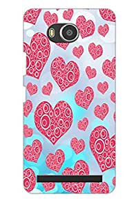 AMAN Different Love 3D Back Cover for Lenovo A7700