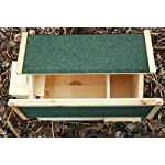 luxus-insektenhotels mecki 22216e hedgehog house with 2 entrances/protection from cats Luxus-Insektenhotels Mecki 22216e Hedgehog House with 2 Entrances/Protection from Cats 51 5sVmY3cL