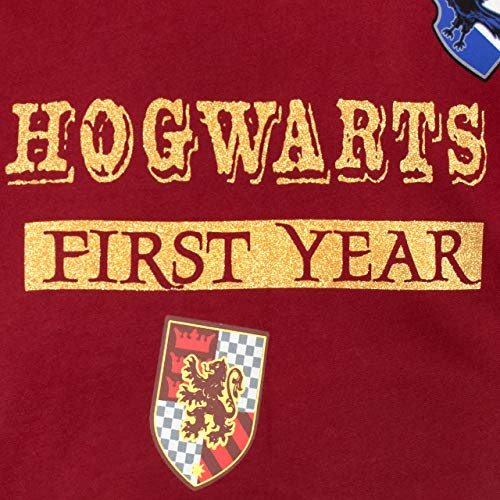 51 5sYcCUWL - Harry Potter Sudadera para niñas Hogwarts Rojo 12-13 Años