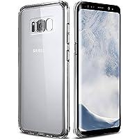 UBEGOOD Funda Samsung Galaxy S8, S8 Carcasa Funda protectora Transparente Carcasa Case Bumper Delgado Flexible TPU Funda Slim Silicona Case Cover para samsung galaxy S8 - Transparente