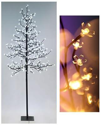 Led Lichterbaum Cherry Blossom Tree 180cm 380 Leds Kischblten Outdoor - Warmwei von Geschenketrends24