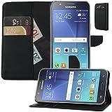 Buch Klapp Tasche Schutz Hülle Wallet Flip Case Etui für Samsung Galaxy J5 SM-J500FN