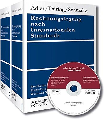 Rechnungslegung nach Internationalen Standards: Kombipaket aus Loseblattwerk in 2 Ordnern (8 Teillieferungen) und CD-ROM-Ausgabe (Stand: inkl. 7. Teillieferung bzw. CD-ROM-Ausgabe 12 – 08.2011)