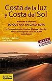 Mapa de carreteras de la Costa de la Luz y Costa del Sol (desplegable), escala 1:340.000 (Mapa Touring)