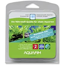 Aquafim S-10 Premium Komplett-Set bis 200 L - 2in1 Dosier-Würfel & Liquid