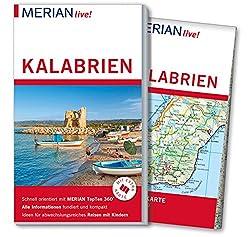 MERIAN live! Reiseführer Kalabrien: Mit Extra-Karte zum Herausnehmen
