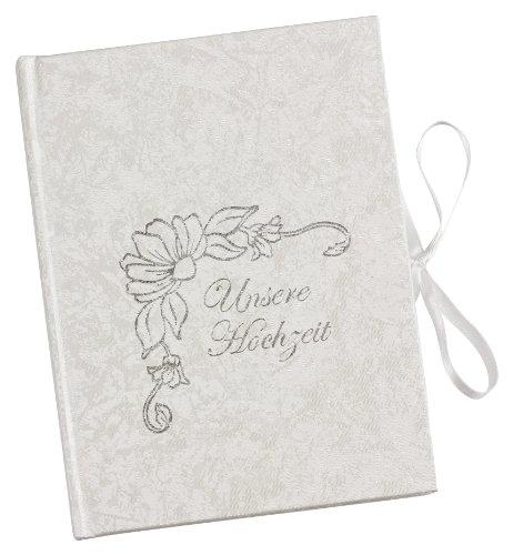 Hochzeit-dvd-hülle (Kronenberg24 Luxuspak DVD Hülle Verpackung für Hochzeit weiss mit Aufdruck und Verschlussband)