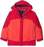 Vaude Kinder Kids Suricate 3in1 Jacket III Doppeljacke, Magma, 122/128