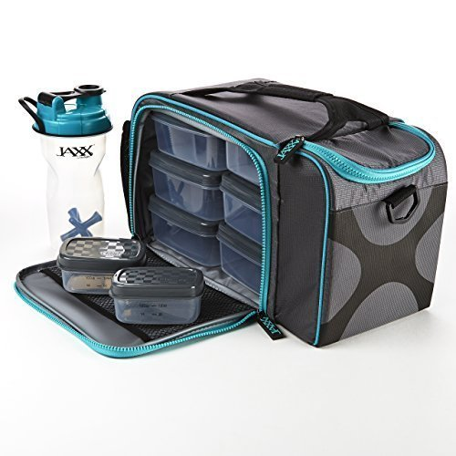 jaxx-fitpak-xl-with-meal-management-container-set-teal-by-fit-fresh