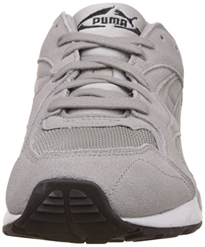 Puma Unisex-Erwachsene Prevail Low-Top Grau (drizzle-puma black-puma white 02)