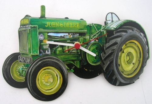 john-deere-tractor-wall-clock