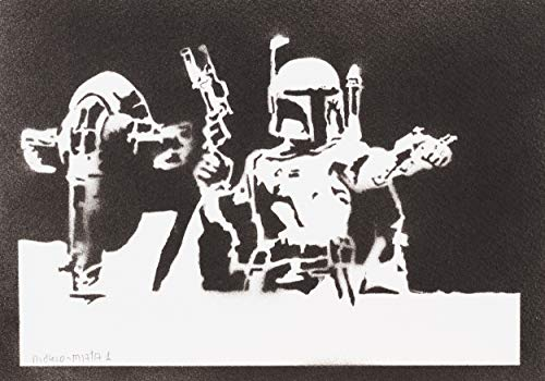 moreno-mata Boba Fett Slave I Star Wars Handmade -