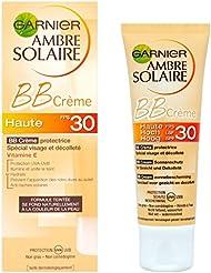 Garnier - Ambre Solaire - BB Crème protectrice - FPS 30  spécial visage et décolleté  Haute protection