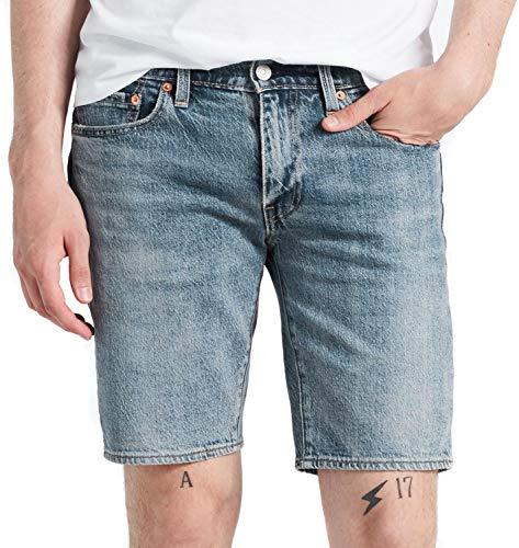 Levi´s ® 511 Shorts Slim FIT Herren Kurze Hose Hemmed College AVE W31 (Levis Kurze Hosen)