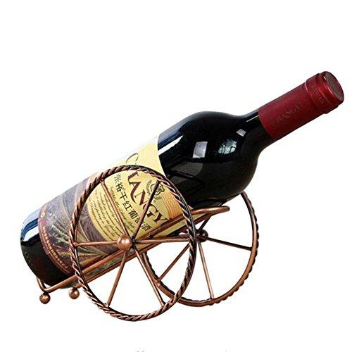 Wein Glas Rack, Wein Flasche Halter, Wand montiert Weinregalen, rot Wein Display Ständer, Metall Fahrräder Form Spender Wein Aufbewahrung Regal, Home Dekoration Küche Esszimmer Bar Zubehör Style 01 -