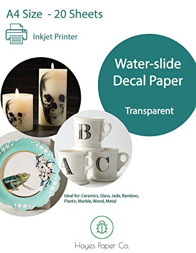 Hayes Waterslide Decal Paper CLEAR