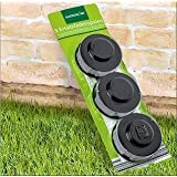 gardenline replacement thread spools for einhell gardenline mowers set of 6 diy. Black Bedroom Furniture Sets. Home Design Ideas
