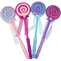 Zantec Party Decor LED Light Up Lollipop Glow Stick Mädchen Zauberstab, blinkend Kinder Spielzeug preisvergleich bei billige-tabletten.eu
