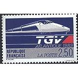 Francia 2743 (completa.edición.) 1989 TGV-Atlantique (sellos para los coleccionistas)