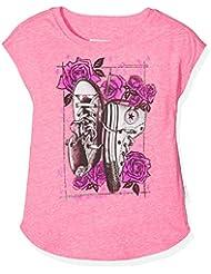 Converse Chucks N Roses Tee, T-Shirt Fille