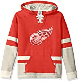 Detroit Red Wings CCM NHL'Hit the Boards' Youth Jeunes Vintage Jersey Maillot SweatShirt Chemise