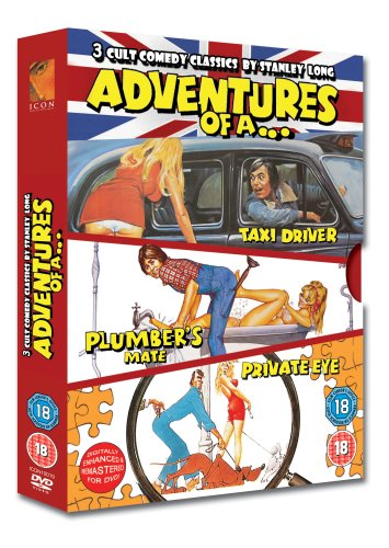 Adventures Of A ... Taxi Driver / Private Eye / Plumber's Mate [UK Import] (Private Eyes Dvd)