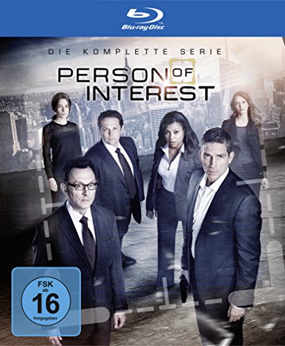 Preisvergleich Produktbild Person of Interest Staffel 1-5 (exklusiv bei Amazon.de) [Blu-ray] [Limited Edition]