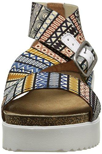 PLDM by Palladium Value Fts, Sandales Femme Multicolore (C71 Africa)