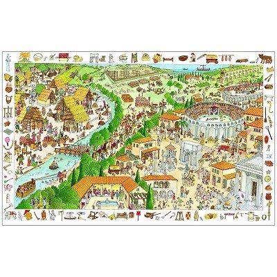 Djeco Wimmelpuzzle Suchpuzzle Der Verwunschene Wald 100 Teilig