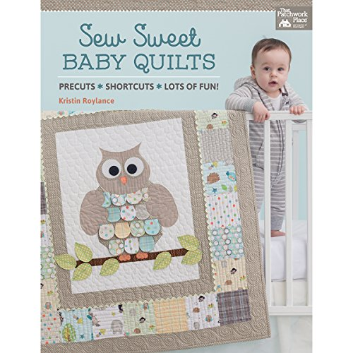 Martingala That Patchwork Place-Sew Sweet Baby trapunte, in acrilico, multicolore