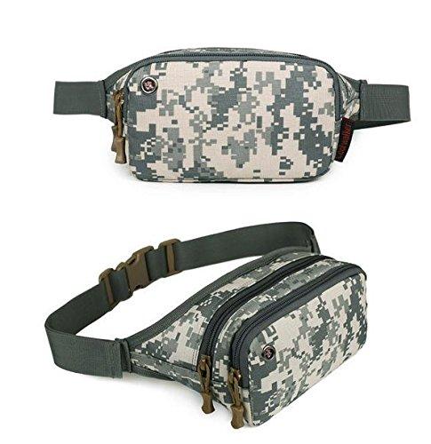&zhou Kleine Taschen für Verwendung im freien Männer und Frauen kombiniert Geldbörsen Bewegung Schulter Umhängetasche 3
