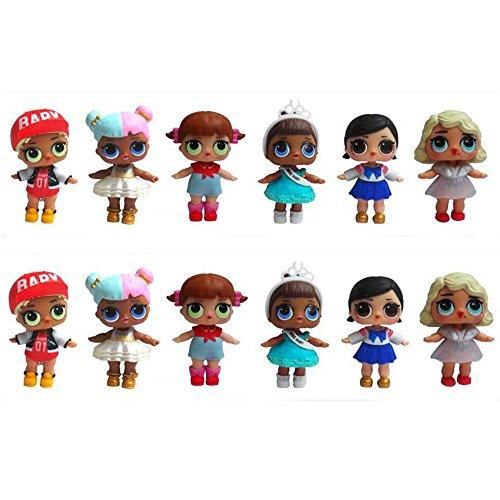 LOL Surprise, Luomike Interesante L.O.L. Dolls Sorpresa MuñEcas Series 2 Permite Ser Amigos, Juguete de Navidad misterioso