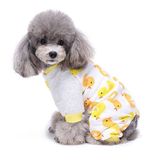 Ropa para Mascotas, Legendog Pet Jumpsuit Cartoon Impreso Ropa para Mascotas de...