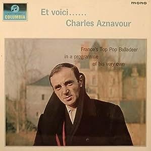 Et Voici - Charles Aznavour LP