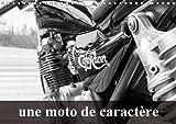 Une moto de caractère : Transformation d'une Kawasaki 750 Zephir. Calendrier mural A4 horizontal 2016