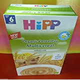 Hipp Multicereal Organic Cereal Pap 200 g From 6th month